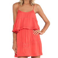 Lovers + Friends Paradise Bay Dress in Orange