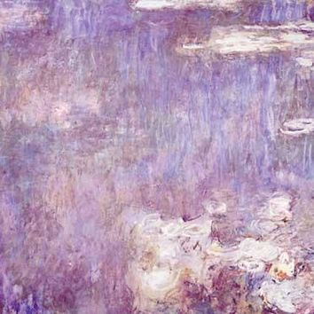 Water Lilies by Claude Monet Fine Art Print