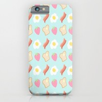 Cute Breakfast iPhone & iPod Case by Adorkible