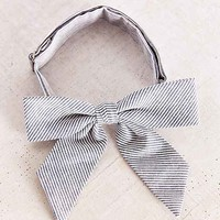 FORAGE Haberdashery Deadstock Blue Floral Lady Bow - Assorted One