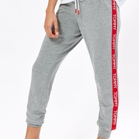 Tommy Hilfiger Contrast Taping Jogger Pants at PacSun.com