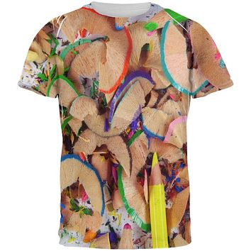 Sharpen Your Colored Art Pencils All Over Mens T Shirt