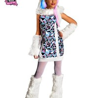 Monster High Abbey Bominable Costume | AihaZone Store