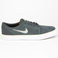 Nike Sb Satire Boys Shoes Charcoal  In Sizes