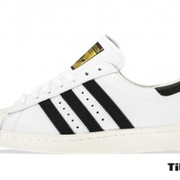 Adidas Superstar 80s G61070 White/Black/Chalk Titolo
