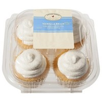 Archer Farms® Vanilla Bean Cupcakes with Vanilla Cream Filling 4 ct