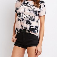 Margaritas For The Senoritas Tee | Charlotte Russe