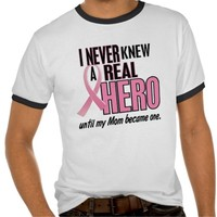 Breast Cancer Awareness Men's Ringer Tshirt