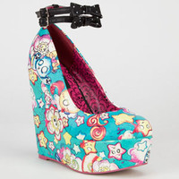 IRON FIST Over The Rainbow Womens Wedges