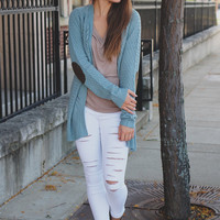 Coffee Run Cardigan - Sage