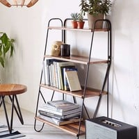 Max Wood Bookshelf - Urban Outfitters