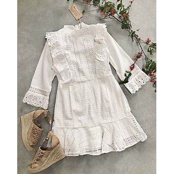 Pasadena Eyelet Dress