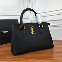 ysl women leather shoulder bag shopping satchel ysl tote bag handbag 29