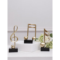 1pc Music Note Decorative Object