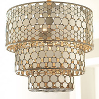 Janice Minor Three-Tiered Chandelier
