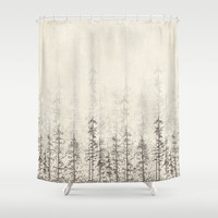 Forest Home Shower Curtain by Rskinner1122