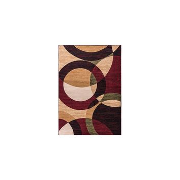 Well Woven Dulcet Bingo Rings/Circles Area Rug