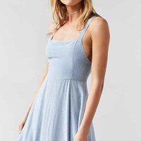 Silence + Noise Striped Square-Neck Maxi Dress - Urban Outfitters