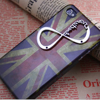 One Direction Director UK one-direction Antique Silver Iphone 4/4S Case  Case 4