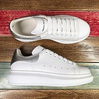 Alexander McQueen Classic white shoes-27