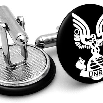 Halo UNSC Space Command Cufflinks
