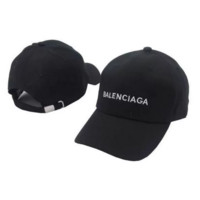Balenciaga Embroidered Embroidered Outdoor Baseball Cap Hats