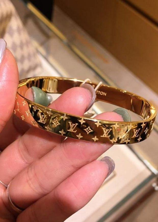 Image of LV Louis Vuitton Fashion New Popular High end Couple Stainless Steel Bracelet