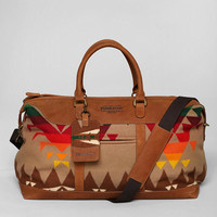 Pendleton Leather Weekender Bag  - Urban Outfitters