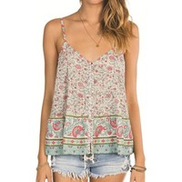 Billabong Tallows Cami Tk - White Cap - J5011TAL				 | 