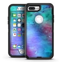 Blue 89608 Absorbed Watercolor Texture - iPhone 7 Plus/8 Plus OtterBox Case & Skin Kits