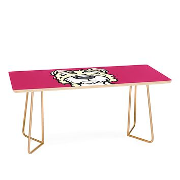 Angry Squirrel Studio Westie 40 Coffee Table