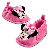 Disney Minnie Mouse Booties for Baby - Pink | Disney Store