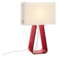 You should see this Tube Top Table Lamp in Red on Daily Sales!
