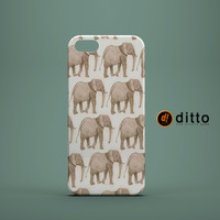 ELEPHANT MARCH Design Custom Case by ditto! for iPhone 6 6 Plus iPhone 5 5s 5c iPhone 4 4s Samsung Galaxy s3 s4 & s5 and Note 2 3 4