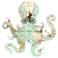 Enkel Dika's All Around the World Wall Decal