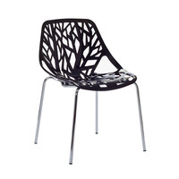 Tree of Life Side Chair in Black