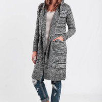 Keeping Time Maxi Cardigan