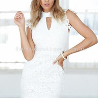 Ivy Lace Dress   Xenia Boutique   Women's fashion for Less - Fast Shipping