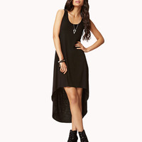 High-Low Caged Back Dress | FOREVER 21 - 2053711463