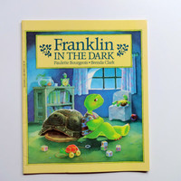 Vintage Franklin in the Dark by Paulette Bourgeois 1987