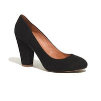 The Frankie Pump in Suede - pumps & heels - shopmadewell's SHOES & BOOTS - J.Crew
