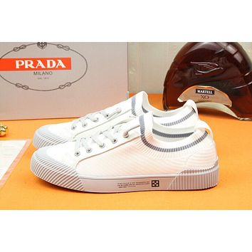 prada men fashion boots fashionable casual leather breathable sneakers running shoes 84