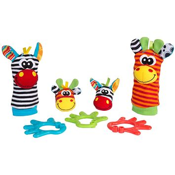 Playgro 0182436 Jungle Friends Gift Pack for baby infant toddler children, Playgro is Encouraging Imagination with STEM/STEM for a bright future - Great start for a world of learning
