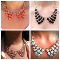 Jewel Encrusted Collar Necklace & Earring Set  from Fairy Tale Accessories