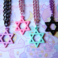 Pastel Goth Star Necklace