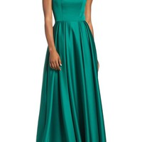Ieena for Mac Duggal Mikado Off the Shoulder Gown | Nordstrom