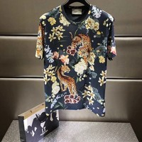 NEW 100% Authentic gucci 2018ss leopard t shirt  ※032
