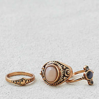 AEO Rings Three Pack , Gold