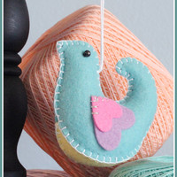 Personalized Song Bird Ornament