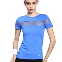 Breathable Hollow Nylon Sports Top